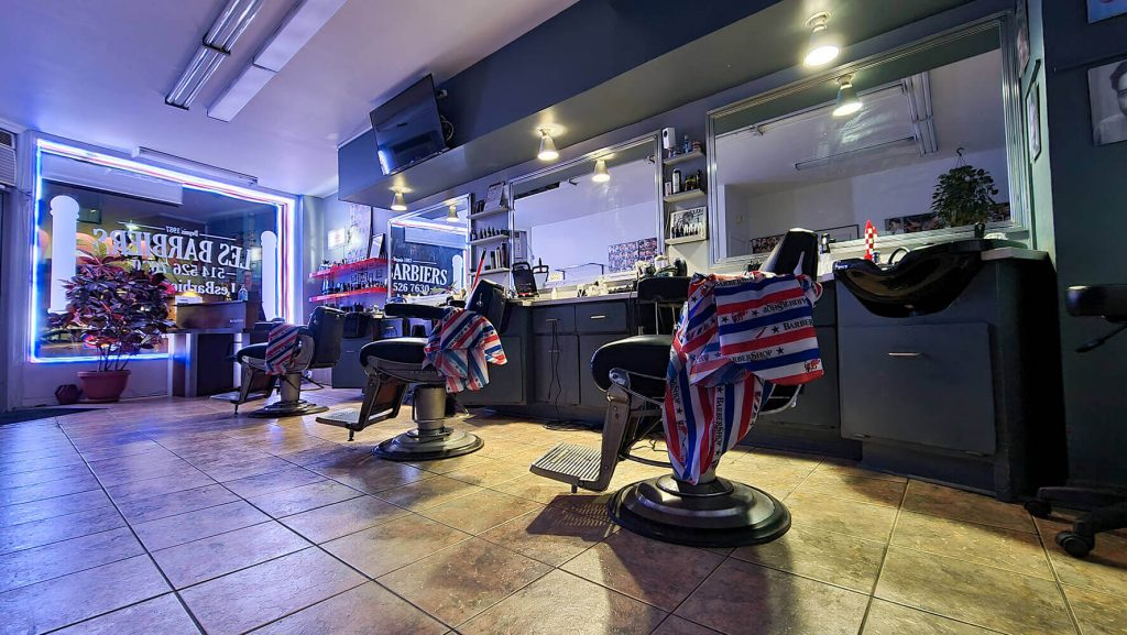 Les Barbiers - Montreal - Barbershop - Salon de coiffure pour hommes